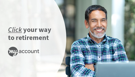 Online retirement promotion - Click your way to retirement